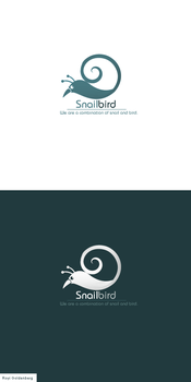Snail-Bird Logo by RC-man-Design