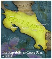 Civilization 5 Map: Costa Rica by sukritact