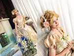 Taffeta dress by adelhaid