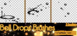 Ball Drops Brushes by Neutral0702