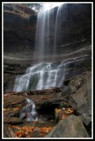 Tinkers Falls in the fall 3 by ambermac148