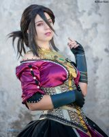 'tis such a great party, Inquisitor - Morrigan by Achico-Xion