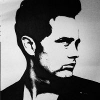 James Dean illustration portrait. by StaceyGoldenberg