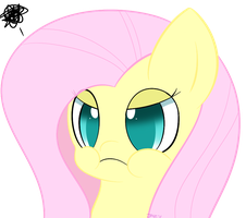 Fluttershy uses Pout! by PokuMii