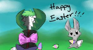 Happy Easter by Kaydolf