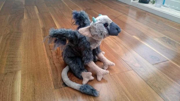 Updated Trico plush (The Last Guardian) by harmonixer101