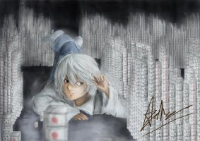 Nate River -Death Note- by Cleochrome