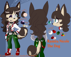 Ramira Nicole The Dog Ref by Camos8A