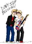 USxUK: Don't Stop Believing by tailfluffgirl