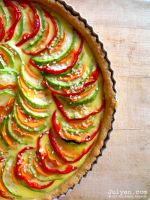 Vegetable Quiche - II by Julyendiary