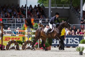 3DE Show Jumping Phase Stock 3 by LuDa-Stock