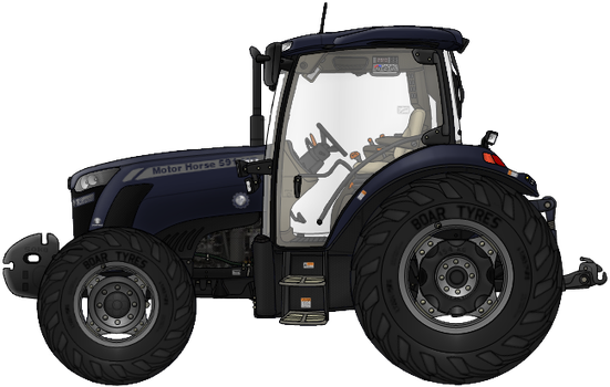 Motor Horse 501 HD Tractor by AC710N87