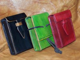 leather card cases 4 5 and 6 a by MerrillsLeather