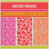 [For SAI] Abstract Brushes by ASlovesLisa