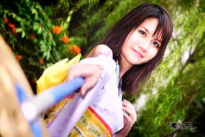 Yuna from FFX cosplay: The Sending2 by yukolin93