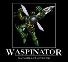 Waspinator motivational by jswv