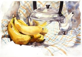 Still Life Painting 1 by woanling