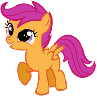 Scootaloo Vector by Myythic