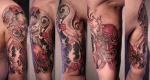 asia tattoo project finished by graynd