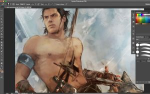 Connor Kenway preview by Brilcrist