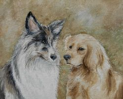 Two Friends by tiletable