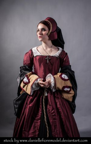 Tudor Stock 5 by DanielleFioreModel