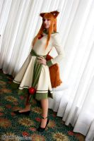 Horo Spice and Wolf Cosplay by AnaAesthetic