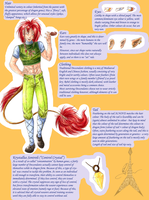 Descendants: Ref Sheet by Kagira