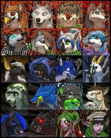 Fall and Halloween Icons 2 by KatieHofgard