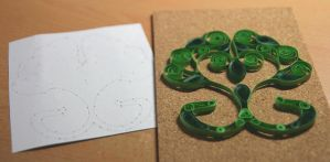 Logo Quilling by ginkgografix