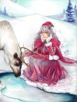 . Alice in Winter Wonderland . by Pae-kym