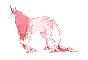 Cherry Blossom Adoptable Auction CLOSED by Kuhli