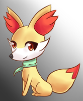 Chai the Fennekin by AzaleaMoon