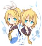 Rin and Len by amkn