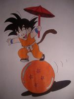 Dragon Ball by BobsCookie