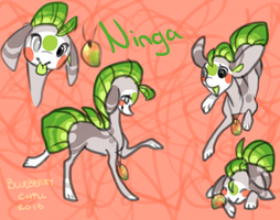 Ninga the finnedyr by BlueberryChill