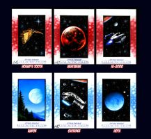 Star Wars Galactic Files Sketch Cards VII by AstroVisionary