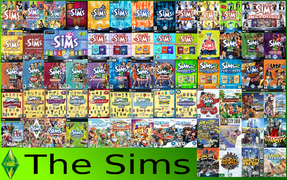 All Sims Games Mashup by massimart