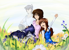 Wolf Children by Karramon