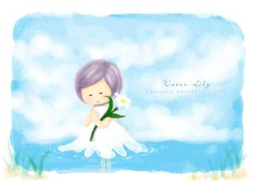 water_lily by 0zorakid
