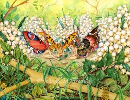 Three Faeries by JoannaBromley
