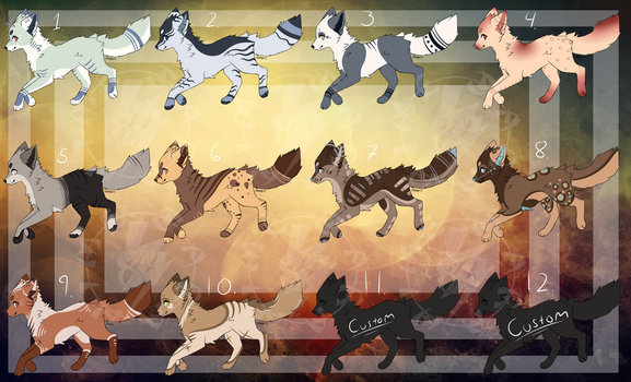 Cheap Canine Adopts (3/12 Open) by HimeAdoptions