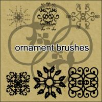 Ornament Brushes 3 by little-stock