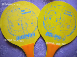 Digimon rackets by RMAlexis