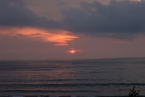sunset bali by Vanquist