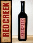 Red Creek Wine Label by montia