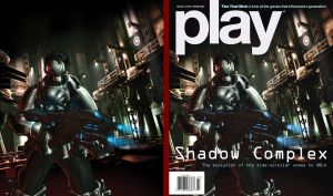 PLAY Magazine -July 2009 Cover by Diego-Rodriguez