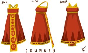 Journey Dress Design by Anodesu