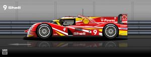 Shell Peugeot 908 2012 #9 by hanmer