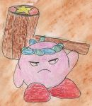 Hammer kirby by kingofthedededes73